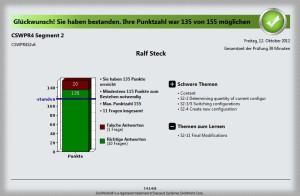 Virtual Tester zeigt: Teil 3 des CSWP bestanden!