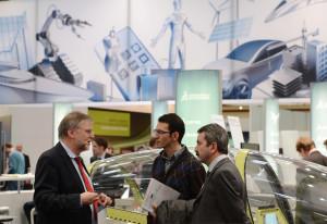 Die Digital Factory im Aufwind Bild: Messe AG
