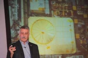 Doug McCuistion, der ehemalige Leiter des Marsprogramms der Nasa, beschloss mit seinem Bericht von der Reise des Curiosity-Rovers zum Mars die Tagung