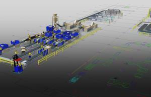 Schnell eingerichtet sind Fabrikhallen mit den Factory Assets