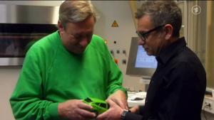 Christoph und sein brandneues, 3D-gedrucktes Auto (Screenshot: WDR)
