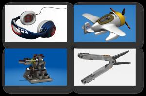Vom Spielzeug bis zum Maschinenbaumodell - Fusion 360 ist ein ernstzunehmendes CAD-System. (Bild: Autodesk)