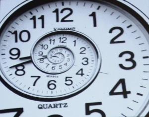 Die Uhr tickt - immer