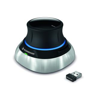 SpaceMouse Wireless: 3D-Maus ohne Schwanz (Bild: 3DConnexion)