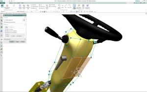 Subdivisional Modeling: Organische Formen schnell erstellt. (Bild: Siemens)