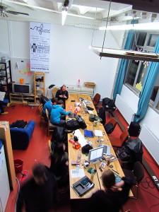 Hackerspace in Mannheim (Bild: Wikipedia/Windgeist)