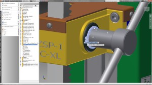In nInventor lässt sich die Menüleiste komplett an die Seite verschieben - ideal für Breitformat-Displays.