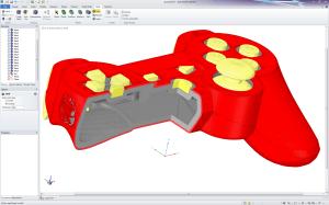 Spaceclaim: In Version 2014 mit vielen Funktionen zum 3D-Druck (Bild: Spaceclaim).