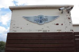 Das Mekka der Morgan-Fans: Die Fabrik in Malvern Link.