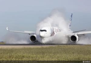 Der A350XWB wird mit 3D-gedruckten Teilen gebaut (Bild: Airbus).