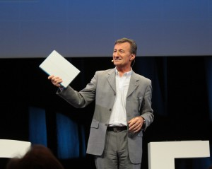 """Bernard Charlès: """"Die Dassault-Produkte laufen jetzt auch auf Sorface-Tablets."""""""