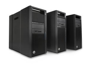 Die neuen Desktop-Modelle unterscheiden sich von den Vorgängern durch schwarze Seitenblenden (Bild: HP)