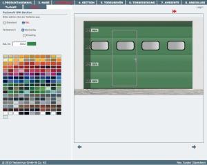 Teckentrup bietet den auf spyydmaxx basierenden Konfigurator seinen Kunden online an (Bild: Teckentrup).
