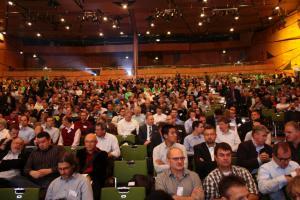 Full House: Über 1.200 Besucher trafen sich zur AU im Darmstadtium