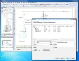 Eplan-Projekte lassen sich einfach in Teamcenter einfügen (Bild: Eplan).