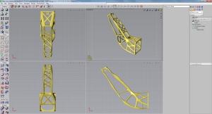Versuchen Sie, diese Form zu fräsen - ohne 3D-Druck lassen sich solche Teile nicht fertigen.
