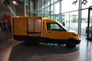 IoT-Fahrzeug: Das StreetScooter-Modell für die Post