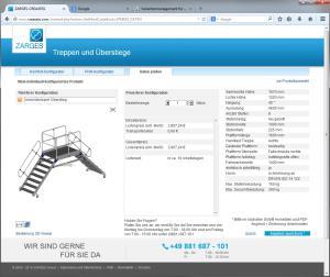 Die hohe Kunst: Im Webkonfigurator stellt der Kunde sein individuelles Produkt selbst zusammen.