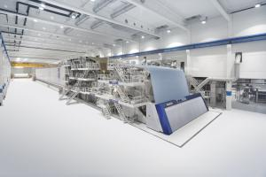 Leider nicht mehr gefragt: Eine Papiermaschine von Voith (Bild: Voith).