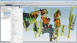 So sieht die Fabrik der Zukunft aus: Digital (Bild Siemens PLM Software).