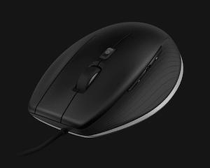 Elegant und im Design an die 3D_Mäuse angepasst: Die CADMouse (Bild: 3DConnexion).