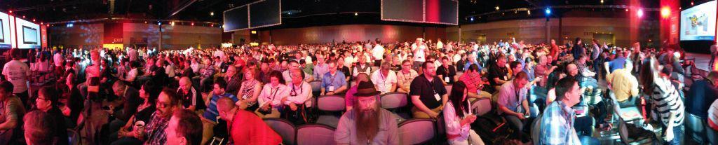 5500 Menschen in einem Raum: Keynote-Session bei der SolidWorks World 2015