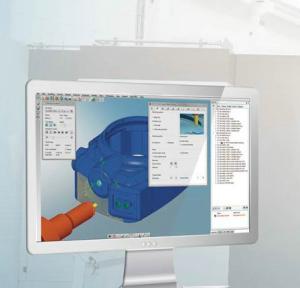 Der ShopViewer zeigt vorab den Ablauf des Fräsprogramms (Bild Open Mind).