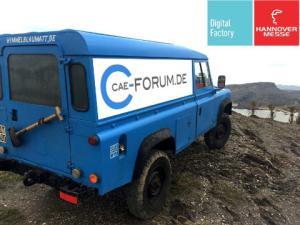 Das CAE-Forum wird auch in diesem Jahr wieder die Digital Factory auf der Hannover Messe bereichern (Bild: CAE-Forum).