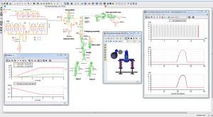 Die Berechnung des Öldruckverlaufs in einem Ventiltrieb ist mit LMS Imagine.Lab auch ohne detailliertes 3D-Modell möglich (Bild: Sioemens PLM Software)