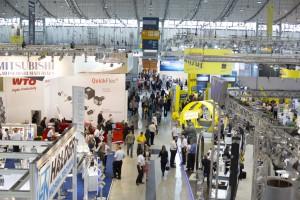 Es brummte in den Messehallen bei der Moulding Expo (Alle Bilder: Messe Stuttgart).