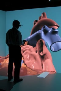 Das Living Heart Project erlaubt das Eintauchen in ein virtuelles, schlagendes menschliches Herz (Bild: Dassault Systems, John Mottern/Feature Photo Service).