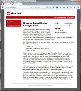 Diese Seite erscheint, wenn man mit dem Browser die WLAN-Adresse des Cube Pro Duo besucht.