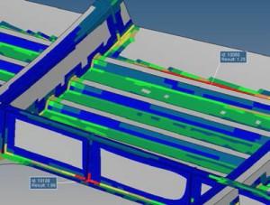 Altair Weld Certification Director erkennt Schweißnähte in CAD-Modellen selbständig (Bild: Altair).