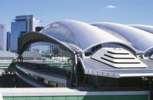 Die futuristische Messehalle 3 in Frankfurt ist das Domizil der formnext (Bild: Mesago).