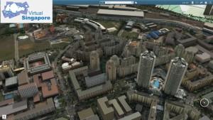 """""""Virtual Singapore"""" dient zur Erstellung eines dynamischen 3D-Modells von Singapur und zur Vernetzung aller Interessengruppen (Bild: National Research Foundation Singapore)."""