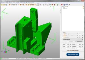 Basistechnologie des 3D-Drucks: netfabb Basic ist weit verbreitet.