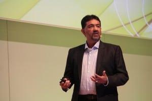 Hanspal nannte in seiner Keynote auf der Autodesk University neben der Cloud die Designoptimierung als Treiber der Zukunft.