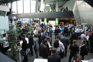 Volles Haus im Darmstadtium: 1.200 Besucher auf der Autodesk University.