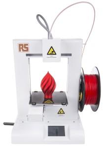 Ideawerk Pro von RS Components: 3D-Drucker mit Heizbett für 670 Euro (Bild: RS Components).