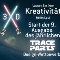 Traceparts und Proto Labs: Raumschiff-Modellierwettbewerb