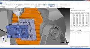 CAM-Optimierungen: Die verbesserte Abtragssimulation mit Werkzeugweganalyse in der CNC Simulation.