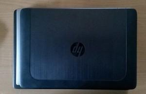 Größenvergleich (von unten): HP ZBook Studio, Dell Precision 5510 und ZBook 14.