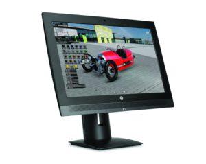 Die neue HP Z1 G3: 47 Prozent kleiner, 51 Prozent leichter und um 21 Prozent preiswerter (Alle Bilder: HP)