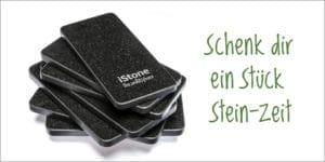 Herrn Welzers Idealvorstellung eines Smartphone: Das iStone (Bild: istone.ch).