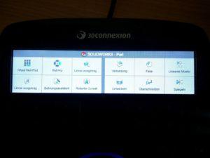 Das Display zeigt die originalen Icons der jeweils aktiven Anwendung.