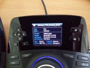 Zur Erinnerung noch einmal das Display des SpacePilot Pro.