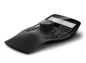 Elegant und mit Display: Die neue SpaceMouse Enterprise von 3DConnexion (Bild: 3DConnexion).