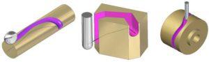 Sweeeps mit 3D-Werkzeugen ins Material graben - eine sehr interessante Idee.
