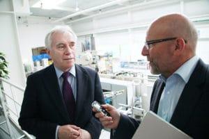 """Prof. Dr.-Ing. Reiner Anderl: """"Unsere Erfahrung ist, dass Unternehmen schon Ansätze zu Industrie 4.0 haben."""" (alle Bilder: Prostep AG)"""