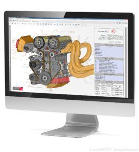 Der 3D PDF Generator 3D von Prostep unterstützt in Zukunft Adobe AEM Forms (Bild: Prostep).